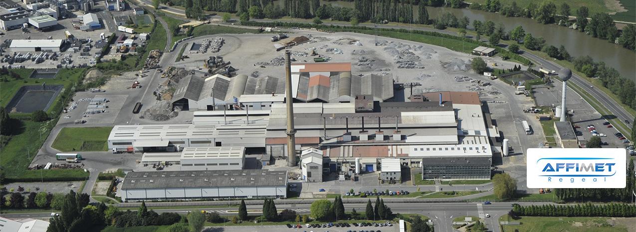 Regeal Affimet, aluminium alloy recycling (Compiégne)