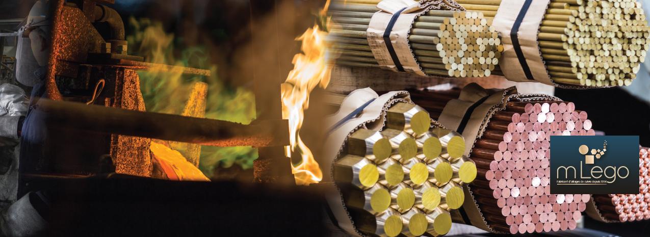 mLego, fabricant d'alliages de Cuivre